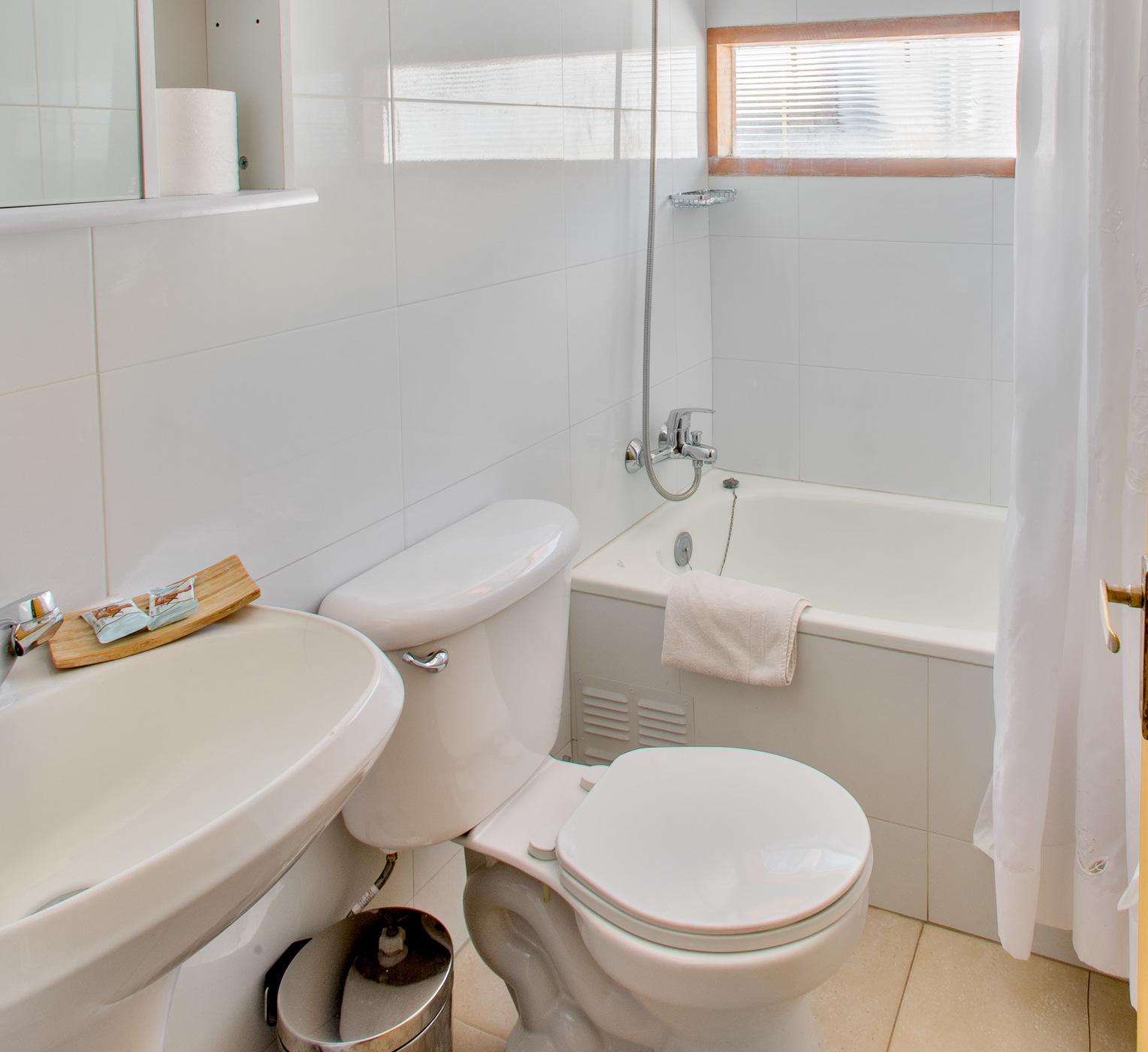 Baño - Cabaña 1