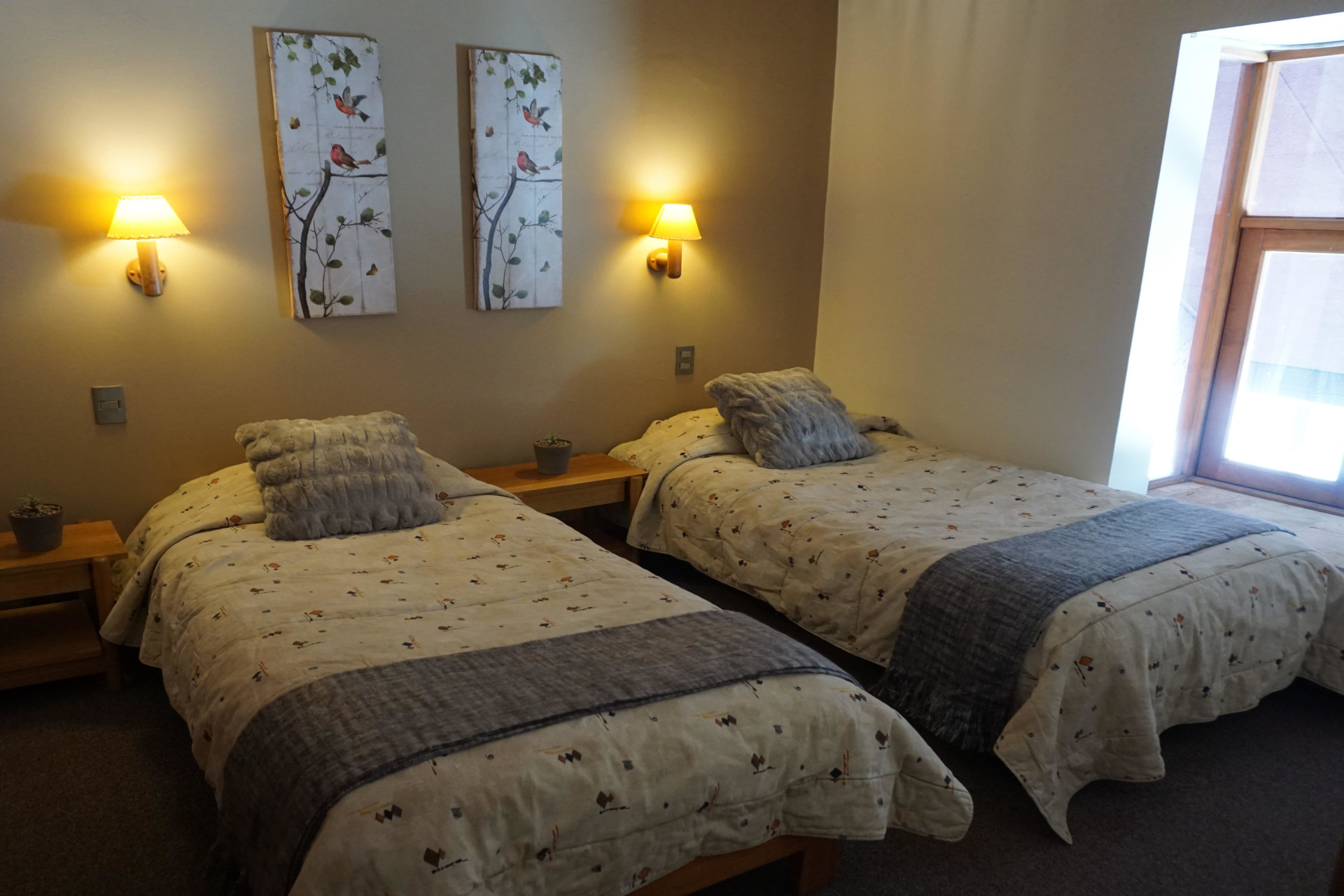 Habitación con dos camas - Departamento Tipo B 223