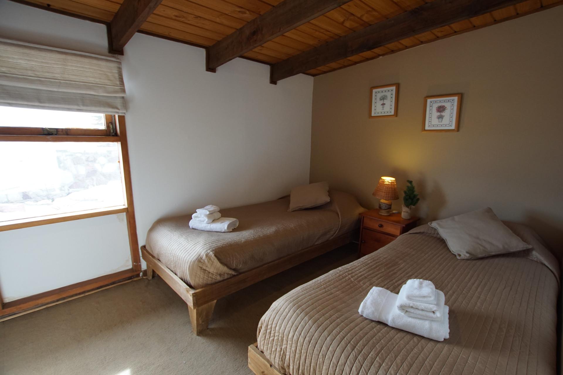 Habitación con dos camas - Cabaña 1